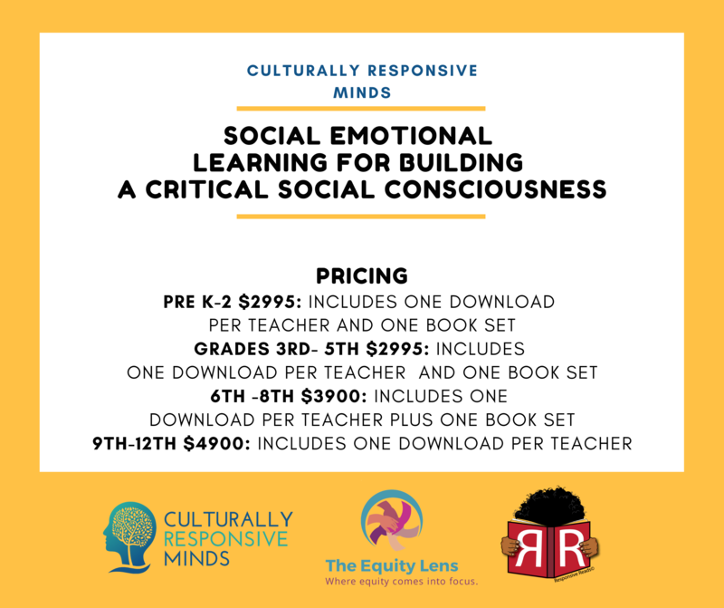 pricing Pre K-2 $2995: includes one download  per teacher and one book set Grades 3rd- 5th $2995: includes  one download per teacher  and one book set 6th -8th $3900: includes one  download per teacher plus one book set 9th-12tH $4900: includes one download per teacher